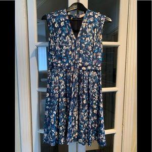 Rebecca Taylor silk sleeveless dress. Size 4